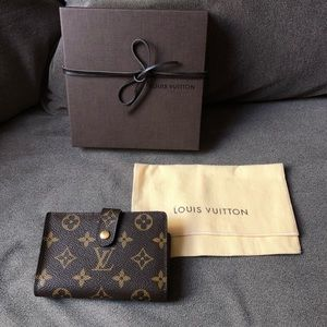 Louis Vuitton Monogram French Purse Wallet